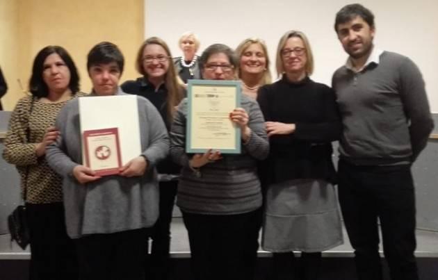 Progetto 'Ci sei nei musei': vinto il secondo premio nella categoria Premio Persona e Comunità