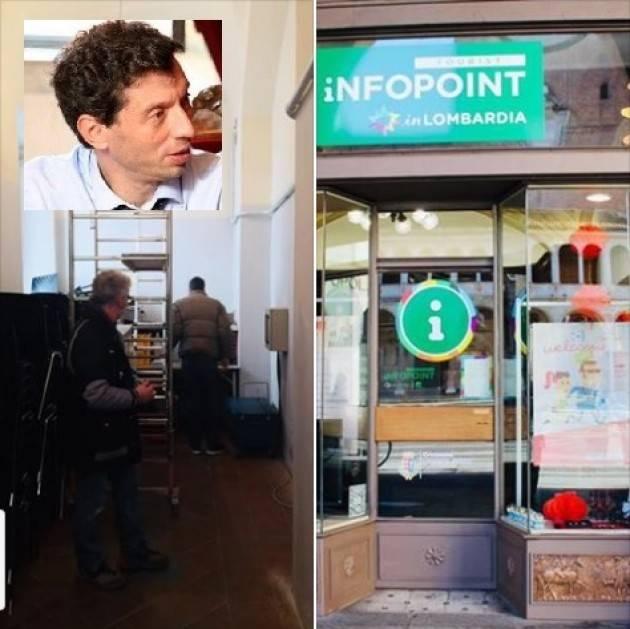Gianluca Galimberti: stiamo sistemando Infopoint Cremona  per una città più accogliente