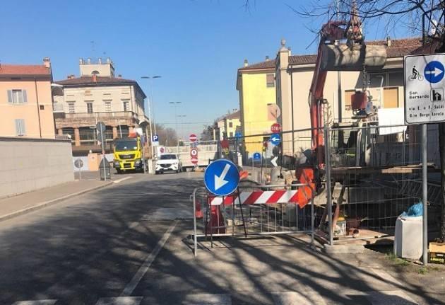 Cremona, Padania Acque : Da domani, mercoledì 6 marzo, proseguono i lavori fognari in via Brescia