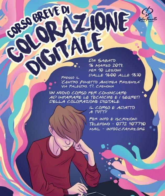 Centro Fumetto Andrea Pazienza: al via un nuovo corso di colorazione digitale
