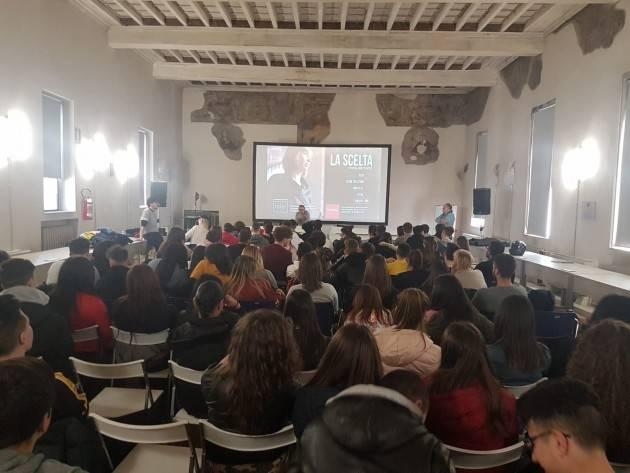 IPSIA ACLI Cremona promuove la scuola di pace di Crema con altre associazioni.
