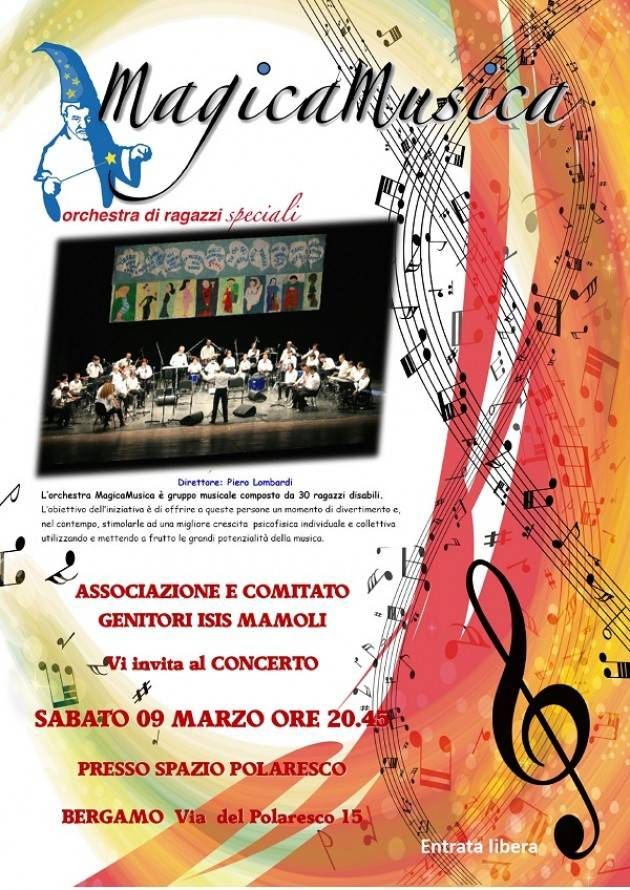 L'Orchestra MagicaMusica fa tappa a Bergamo