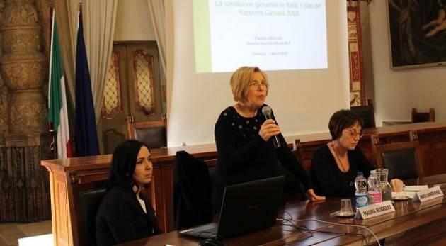 Youngle Context - Presentato in Comune il Rapporto Giovani 2018