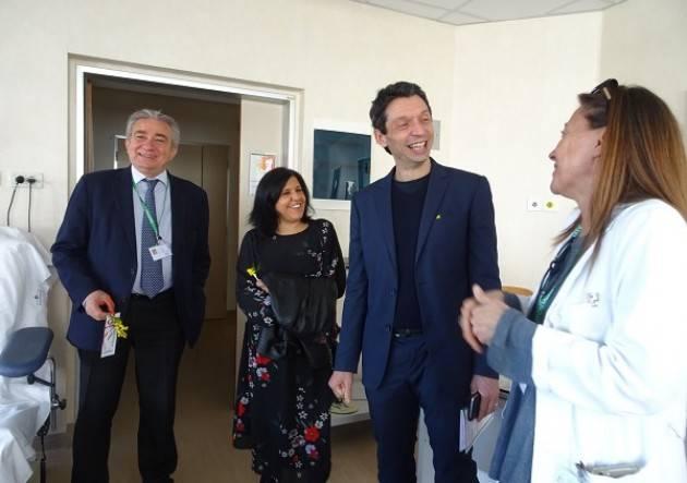 Il Sindaco Galimberti presente all'Open Day dello Spazio Donna tenutosi all'ospedale di Cremona
