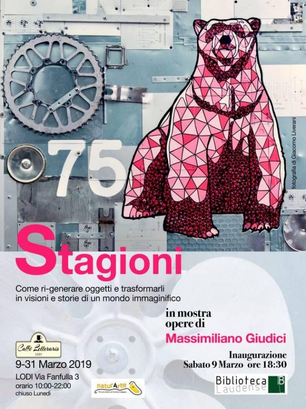 Lodi  In mostra le 'Stagioni' di Massimiliano Giudici dal 9 marzo