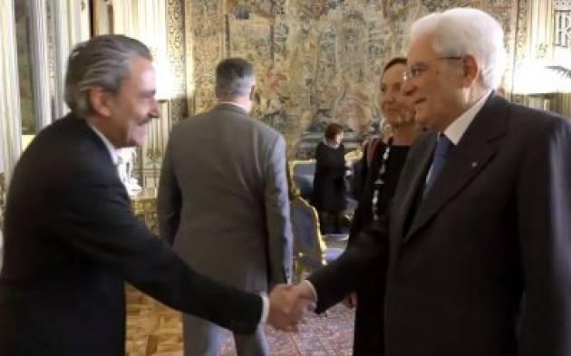 L'Uisp incontra il presidente Mattarella, con il Forum Terzo Settore (Video)