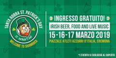 A Cremona WELCOME TO SHAMROCK ! TANTA ROBBA ST. PATRICKS' DAY DAL 15 AL 17 MARZO