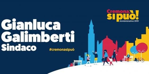 Cremona, si può! Il 16 marzo INAUGURAZIONE SEDE ELETTORALE di Gianluca Galimberti