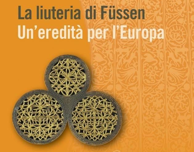Sabato 16 marzo presentazione del libro La liuteria di Füssen – Un'eredità per l'Europa