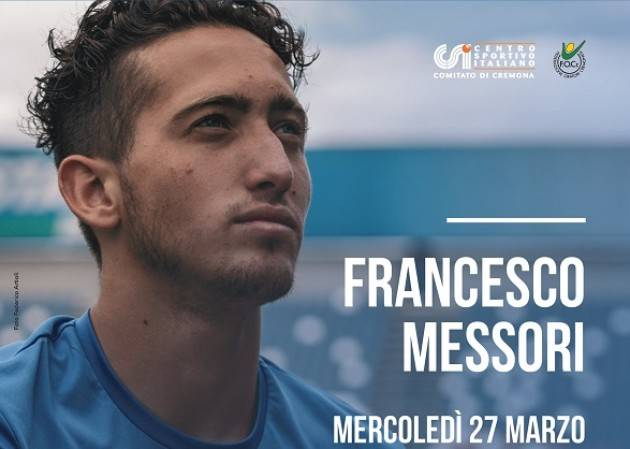 CSI Cremona: Incontro con Francesco Messori mercoledì 27 marzo