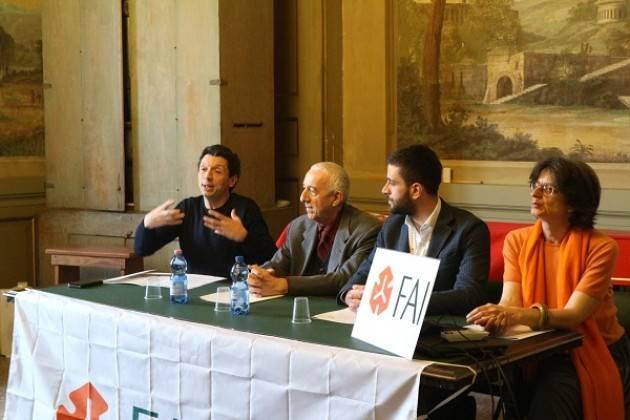 Presentazione Giornate FAI di primavera alla presenza del sindaco Gianluca Galimberti