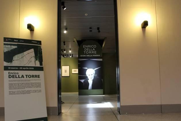 Dal 15 marzo al 28 aprile 2019 il Museo Civico Ala Ponzone ospita la mostra 'Enrico Della Torre – Segni della poesia'