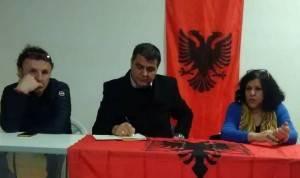 Rosita Viola, invitata da Hajazi LANDI,  incontra la comunità albanese nella nuova sede di Cremona