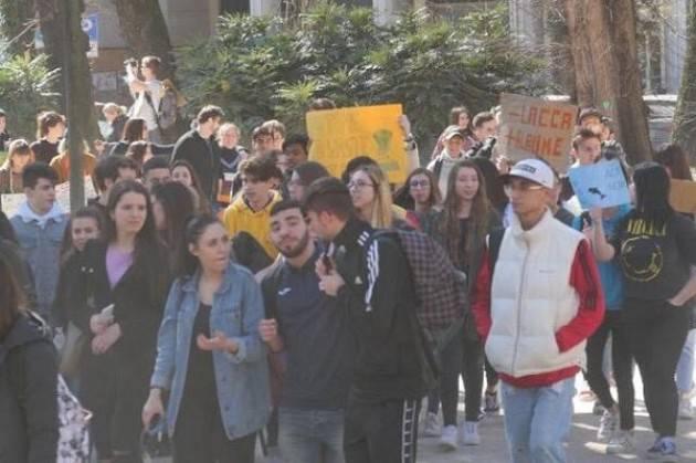 Anche il Cr.forma presente alla manifestazione Global Strike for Future