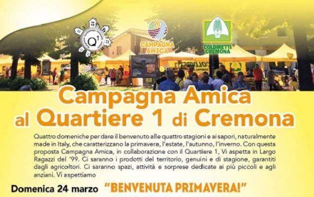 Domenica 24 marzo Benvenuta Primavera e Naviglio in Fiore al Quartiere 1 (Cremona)