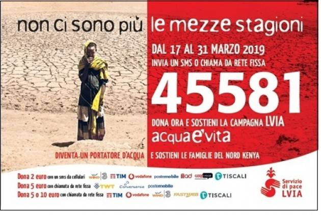 Giornata Mondiale ACQUA - Storie dall'AFRICA e campagna SMS - da LVIA Kenya