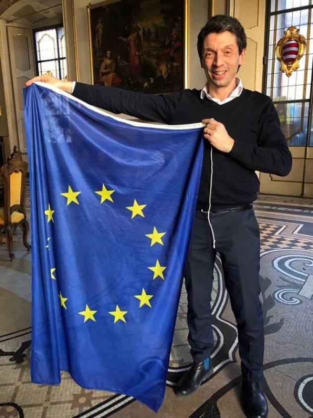 """Gianluca Galimberti: """"Oggi siamo cittadini europei per esserlo tutti i giorni, per un presente e un futuro di pace"""""""