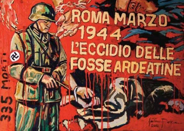 AccaddeOggi   #24marzo 1944  La strage delle Fosse Ardeatine ad opera dei nazisti con 335 vittime (di Ilaria Romeo )