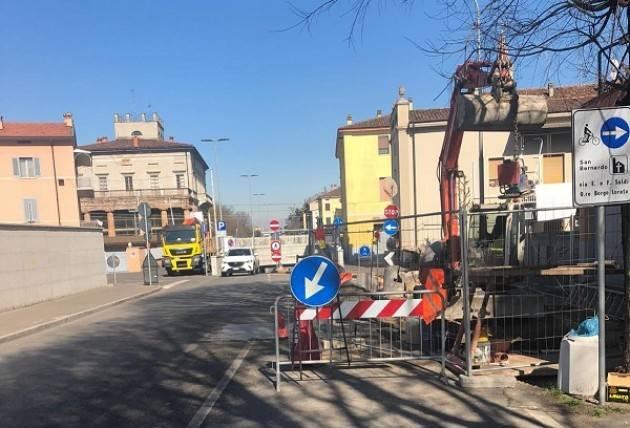 Cremona, Padania Acque Dal 25 marzo, pulizia del tratto fognario e delle caditoie dell'acqua piovana del sottopasso in via Brescia