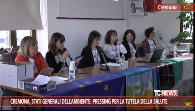 Cremona Dagli Stati Generali Ambiente: 'impegnarsi sul clima contro i cambiamenti climatici si  contribuisce alla pace'.