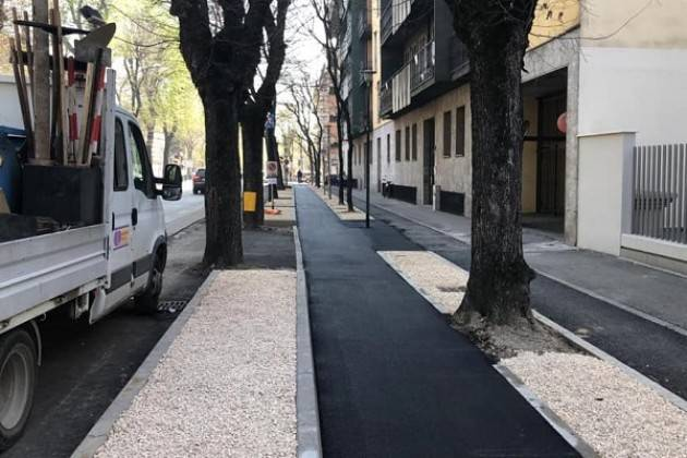 Il Sindaco Galimberti assicura: «Pista ciclabile di viale Trento e Trieste in dirittura d'arrivo»