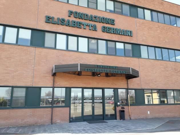 Cingia de' Botti (Cremona)  Da oggi arriva il bus nel reparto alzhaimer della RSA Germani  (Video G.C.Storti)
