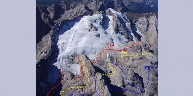 Il ghiacciaio dei Forni non esiste più
