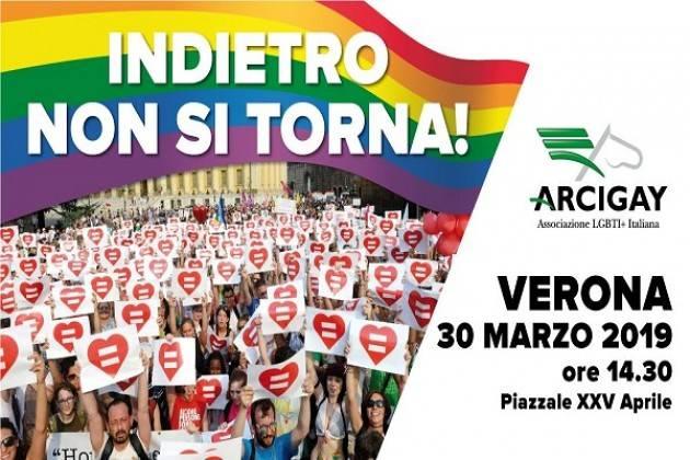 """Anche il comitato Arcigay Cremona """"La Rocca"""" domani - sabato 30 marzo - a Verona"""