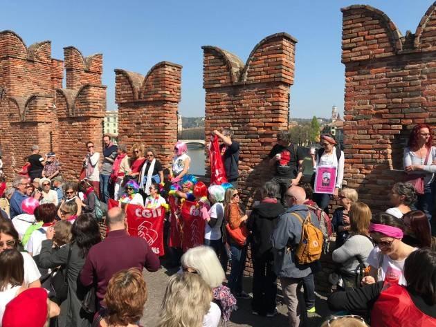 (Video) Libere di (r) esistere Verona Anche  Cremona alla marcia contro il Congresso delle famiglie