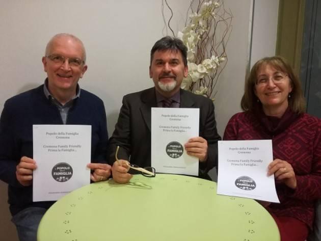 Elezioni 2018 Roberto Vitali candidato sindaco a Cremona per il Popolo della Famiglia