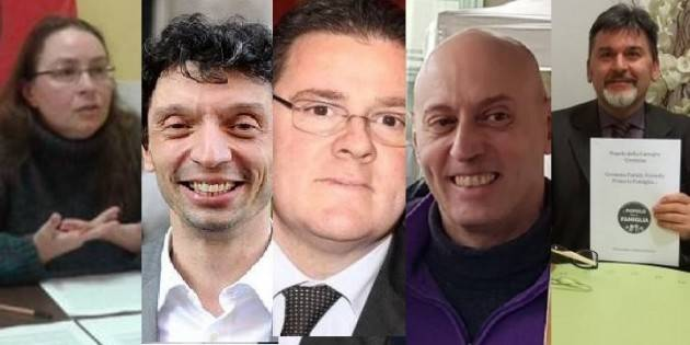 Cremona Elezioni2019 I candidati sindaco sono già 5: Berardi,Galimberti,Malvezzi,Nolli,Vitali (di G.C.Storti)