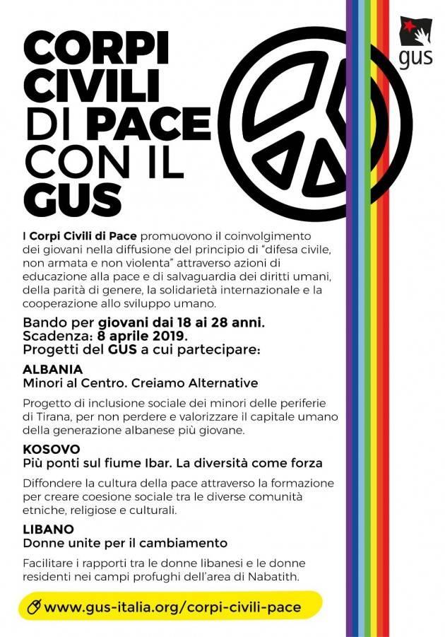 Corpi Civili di Pace: con il Gus in Albania, Kosovo e Libano 14 posti disponibili