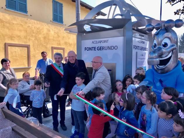Casaletto Ceredano: Padania Acque e comune inaugurano la casa dell'acqua 'Fonte Gerundo'