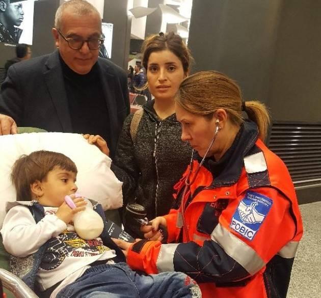 Un cuore nuovo per Salim, il piccolo kurdo. Grazie a Pobic e allo SPI-CGIL (di Franco Bordo)