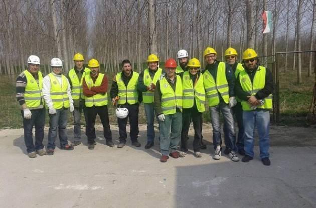 A Genivolta e Spino d'Adda una prova di soccorso per volontari di protezione civile sabato 6 aprile