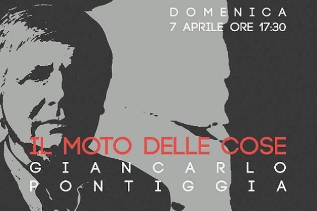Le liriche di Giancarlo Pontiggia all'ADAFA Cremona domenica 7 aprile
