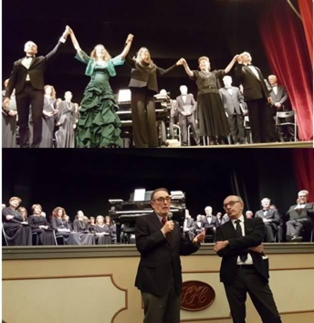 L'ECOMUSICA Voglia di musica lirica a Cremona? SI, un successo l'evento per ricordare Mario Abeni