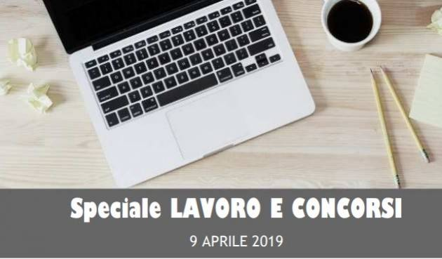 Cerchi lavoro ? InformaGiovani Cremona Speciale Lavoro e Concorsi Proposte del 9 aprile  2019