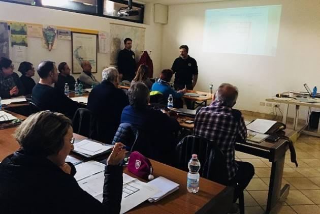 Concluso il corso di Operatore di Segreteria per Volontari di Protezione Civile