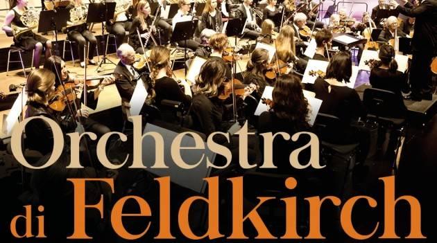 L'Orchestra austriaca di Feldkirch in concerto  a Casalmaggiore  e Cremona