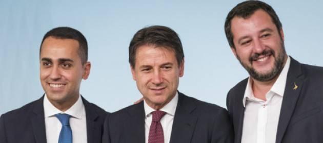 ADUC Governo. Conte, Salvini e Di Maio: i tre cavalieri dell'Apocalisse che precipiteranno gli italiani nell'inferno