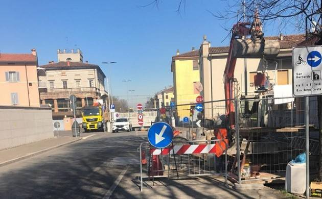 Cremona, Padania Acque Terminato il cantiere fognario in via Brescia