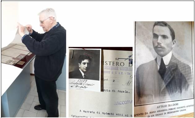 L'ECOSTORIA  Giuseppe Azzoni  'scoperchia' il casellario politico della Questura di Cremona nel ventennio fascista.