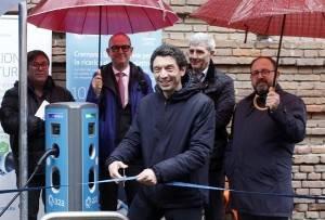 Cremona Green: inaugurata la nuova rete di ricarica A2A