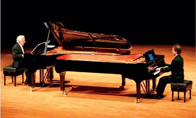 Concerto di VLADIMIR ASHKENAZY & VOVKA ASHKENAZY giovedì 18 aprile a Casalmaggiore