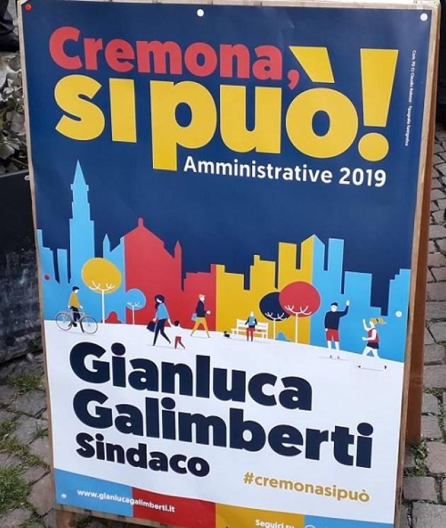In pubblicazione il programma di  Cremona, si può! Gianluca Galimberti, sindaco Cremona 2019-2024