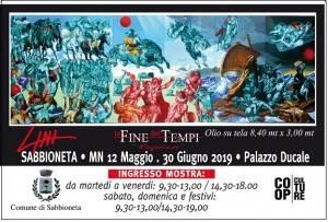 La straordinaria opera  'La Fine dei Tempi' di Virginio Lini esposta a Sabbioneta  dal 12 maggio al 30 giugno 2019