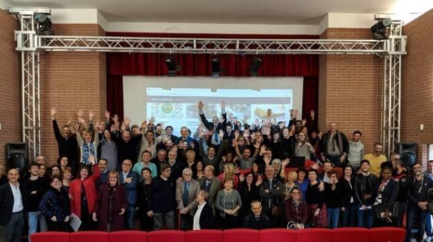 Le Sei liste pro-Galimberti Sindaco di Cremona 2019 riunite sul programma.