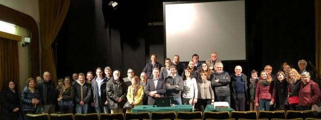 Sospiro (Cr)  'Dieci anni di fatti concreti' con  Il sindaco Paolo Abruzzi