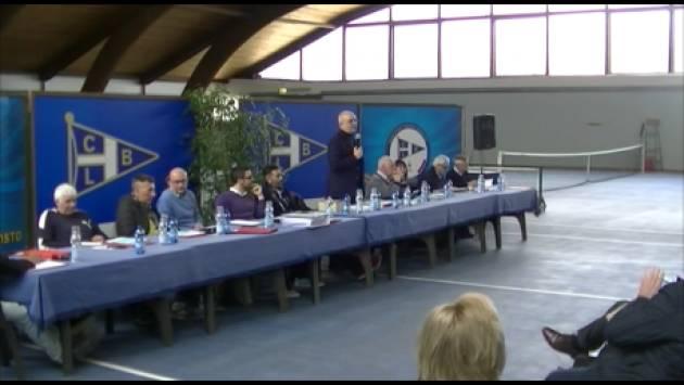 Maurillio Segalini soddisfatto L'assemblea Bissolati vota il bilancio e premia i soci con 50anni di iscrizione (Video di G.C.Storti)